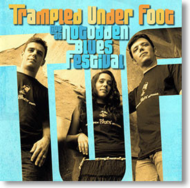 """Live At Nogodden Blues Festival"" blues CD by Trampled Under Foot"