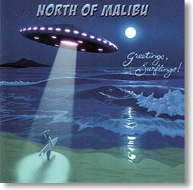 """""""Greetings Surflings!"""" blues CD by North of Malibu"""