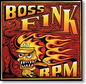 """""""R.P.M."""" blues CD by Boss Fink"""