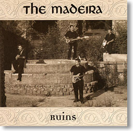 """""""Ruins"""" surf CD by The Madeira"""