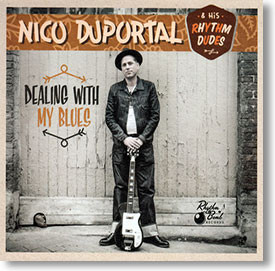 """Dealing With My Blues"" blues CD by Nico Duportal"