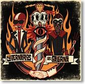 """""""Sangre En El Atlántico"""" surf CD by The Cavernarios & Los Galerna"""