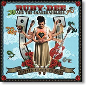 """Little Black Heart"" blues CD by Ruby Dee and The Snakehandlers"
