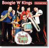 """King Boogie Swing"" blues CD by Boogie W Kings"