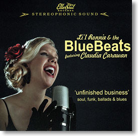 """Unfinished Business"" blues CD by Li'l Ronnie & The Blue Beats"