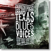 """Texas Blues Voices"" blues CD by Fabrizio Poggi"