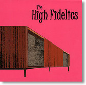 """Self Titled"" surf CD by The High Fidelics"