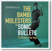 """Sonic Bullets, 13 From The Hip"" surf CD by The Bambi Molesters"