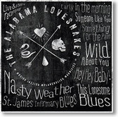 """Nasty Weather"" blues CD by The Alabama Lovesnakes"