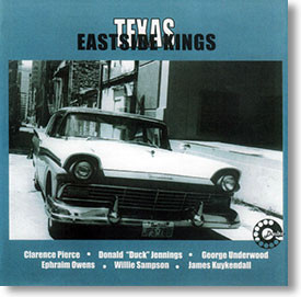 """Self Titled"" blues CD by Texas Eastside Kings"