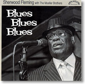 """Blues Blues Blues"" blues CD by Sherwood Fleming"