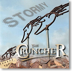"""Stormy"" surf CD by The Cruncher"