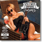 """Pool Party EP"" surf CD by Los Surfer Compadres"