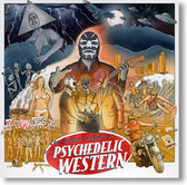 """Psychedelic Western"" surf CD by Los Surfer Compadres"