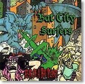 """""""Fear of A Bat Planet"""" surf CD by Bat City Surfers"""