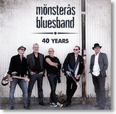"""Mönsterås Bluesband"" blues CD by 40 Years"
