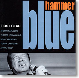 """First Gear"" blues CD by Blue Hammer"