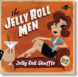 """""""Jelly Roll Shuffle"""" blues CD by The Jelly Roll Men"""