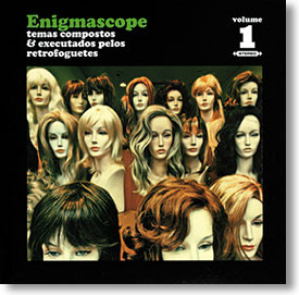 """Enigmascope Volume 1"" surf CD by Retrofoguetes"