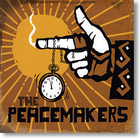 """""""Self Titled"""" blues CD by The Peacemakers"""