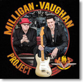 """Self Titled"" blues CD by Milligan ~ Vaughan Project"