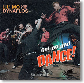 """""""Get Up And Dance!"""" blues CD by Lil' Mo & The Dynaflos"""