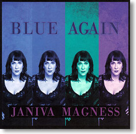 """""""Blue Again"""" blues CD by Janiva Magness"""