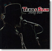 """Driving Blues"" blues CD by Texas Slim"