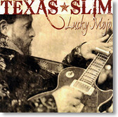 """Lucky Mojo"" blues CD by Texas Slim"