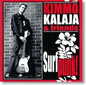 """Surf Punk"" CD by Kimmo Kalaja & Friends"