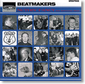 """Nuthin' Fancy"" surf CD by Beatmakers"