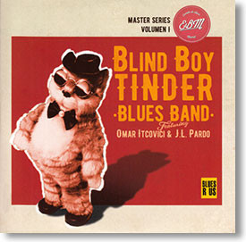 """Master Series Volumen 1"" blues CD by Blind Boy Tinder Blues Band"