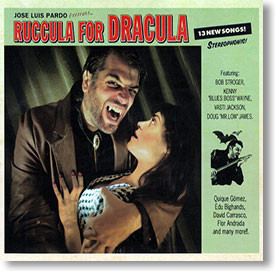 """""""Ruccula For Dracula"""" blues CD by Jose Luis Pardo"""
