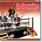 """""""First Round"""" surf CD by The Sleepwalkers"""
