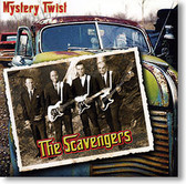 """Mystery Twist"" surf CD by The Scavengers"