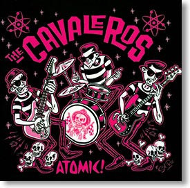 """""""Atomic"""" surf CD by The Cavaleros"""