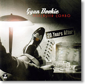 """""""Twenty Years After"""" blues CD by Gyan Dookie & The Telecaster Combo"""