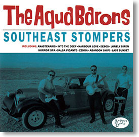"""""""Southeast Stompers"""" surf CD by The Aqua Barons"""