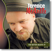 """""""You Better Believe It!"""" blues CD by Terence McArdle"""