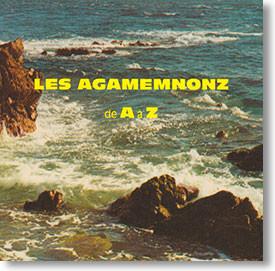 """""""de A à Z"""" surf CD by Les Agamemnonz"""