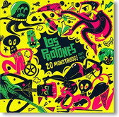 """20 Monstruos! 2007 to 2015"" surf CD by Los Protones"