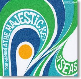 """Hi Seas"" surf CD by Dom Mariani & The Majestic Kelp"