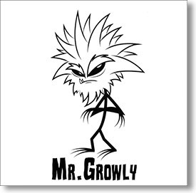 """Self Titled"" surf CD by Mr. Growly"