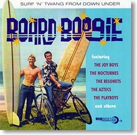 """Board Boogie"" surf CD by Various Artists"