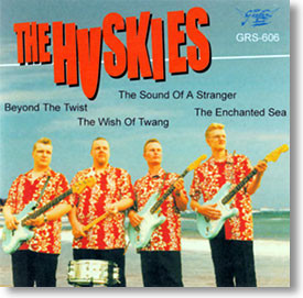 """""""Self Titled"""" surf CD by The Huskies"""