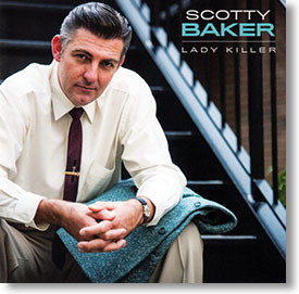 """Lady Killer"" rockabilly CD by Scotty Baker"