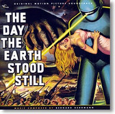 """The Day The Earth Stood Still"" soundtrack CD by Bernard Herrmann"