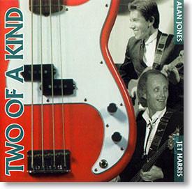 """""""Two of A Kind"""" instrumental CD by Alan Jones & Jet Harris"""