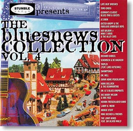 """The Bluesnews Collection Vol. 4"" blues CD by Various Artists"