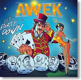 """Let's Party Down"" blues CD by Awek"